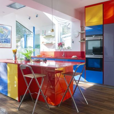 Bespoke Colorful Kitchen