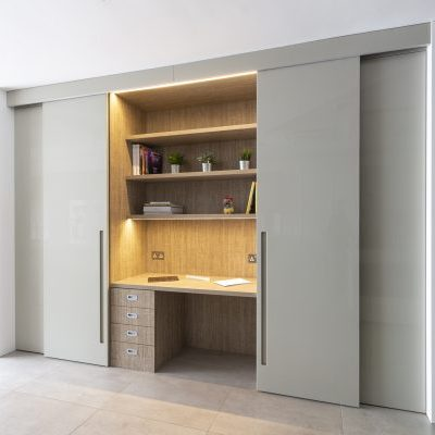 Hidden Home Office Design