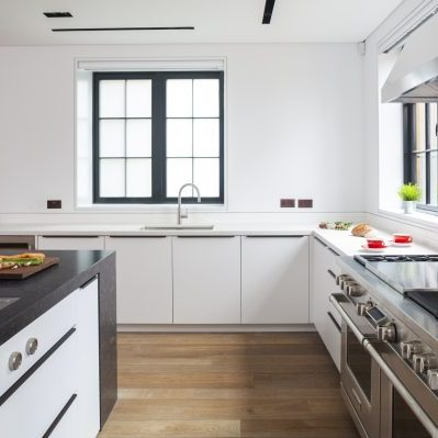 Pure White Kitchen