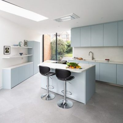 Pastel Blue Kitchen Ideas